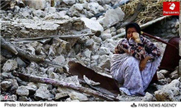 نخلهای خرما دیشب سرپناه زلزلهدگان بوشهر بود+عکس