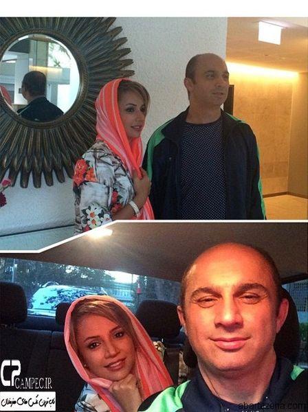 گردش شبنم قلی خانی و برادر جانش+عکس