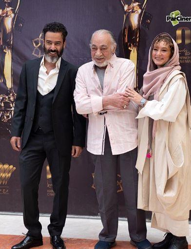 زوج نمکی بازیگر در کنار پدر+عکس