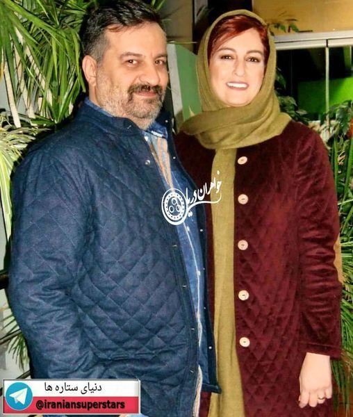 شقایق دهقان و همسر معروفش+عکس