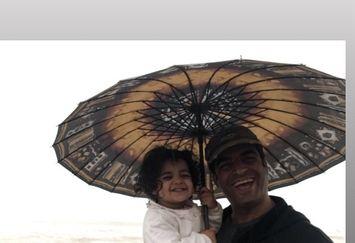 همسر و دختر یکتا ناصر در شمال کشور+عکس