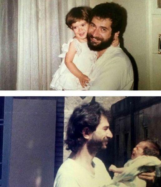 ستاره پسیانی و پدرش در زمان های قدیم + عکس