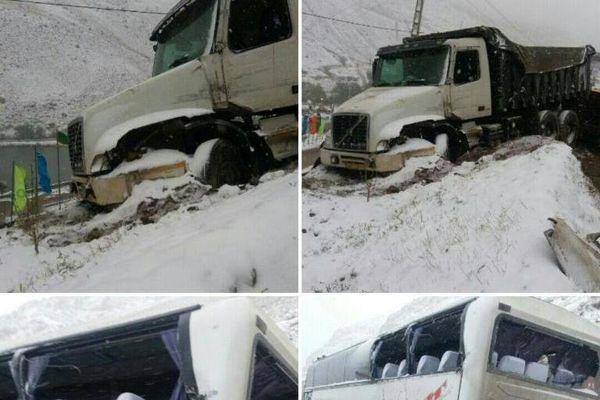 کشته شدن 13 نفر براثر تصادفات ایام بارندگی در مازندران