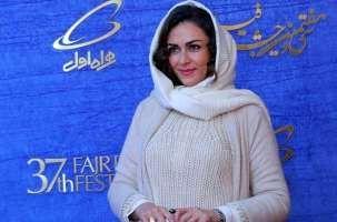 جلب توجه تیپ خاص و متفاوت شیوا ابراهیمی در جشنواره فجر! عکس