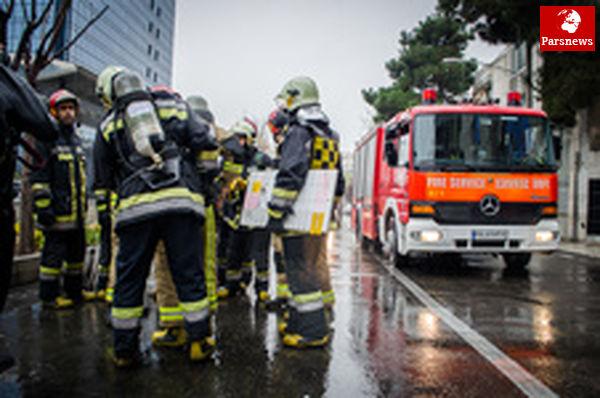 ساخت ۲۰ ایستگاه آتشنشانی تا پایان سال