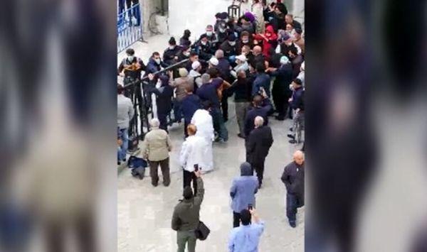 درگیری قرنطینه شدگان با پلیس در ترکیه