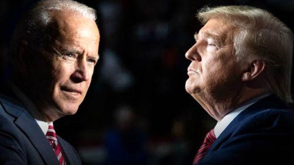 محبوبیت بایدن نسبت به ترامپ در نظرسنجی جدید