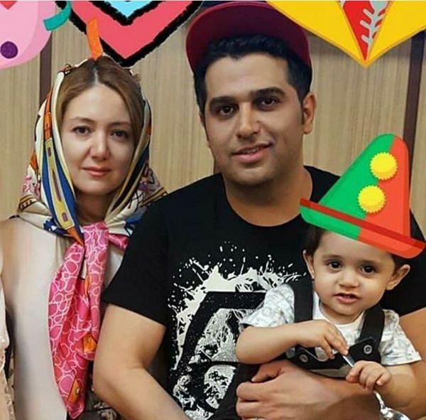 حمید عسگری و همسر خارجی اش+عکس