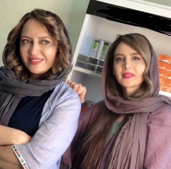 خواهران معروف سینما وتلویزیون در کنار هم + عکس