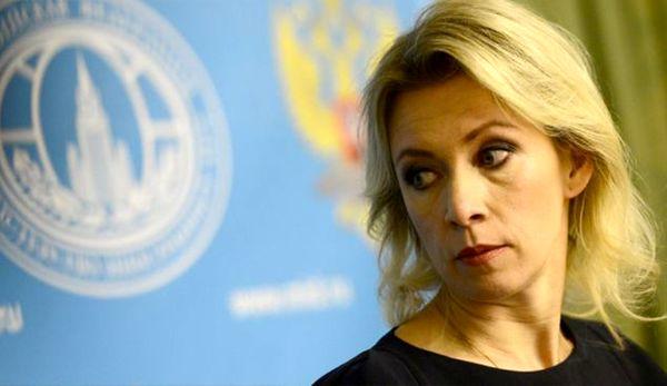 کنفرانس خبری ماریا زاخارووا درباره ادلب سوریه