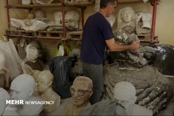 مجسمهها صاحب بیمارستان شدند