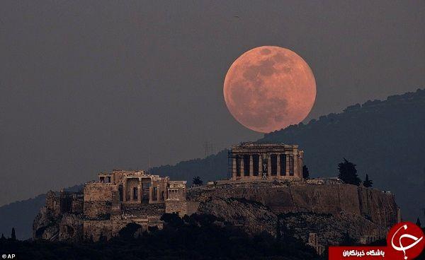 تصاویری زیبا و منحصر به فرد از کره ماه