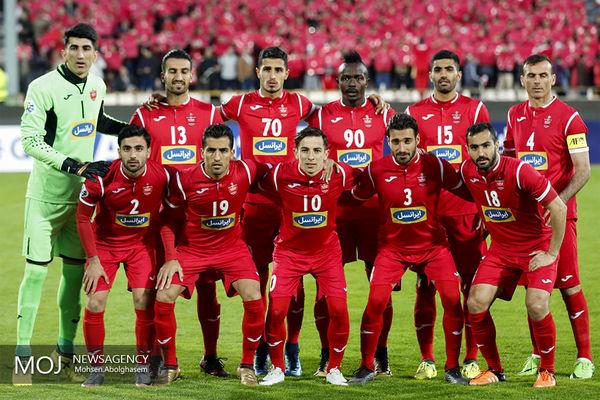 جدول لیگ قهرمانان آسیا گروه پرسپولیس 2019
