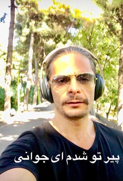 پیر شدن علیرضا رئیسی در جوانی اش + عکس