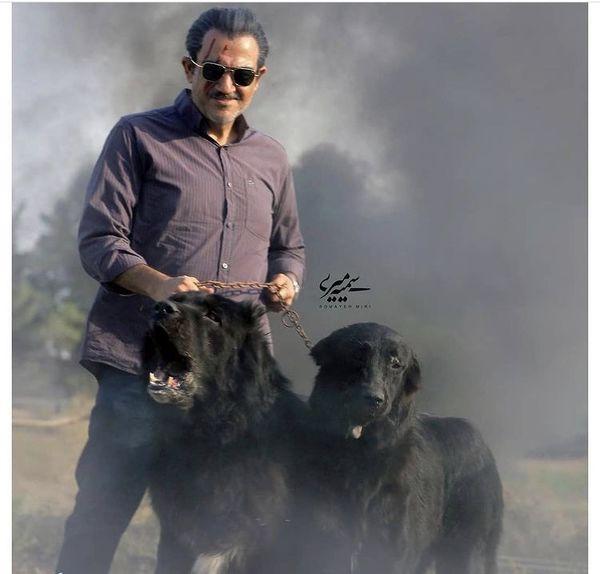 گریم متفاوت مهران غفوریان در فیلم جدیدش + عکس