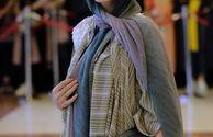 تیپ بازیگر سریال بوی باران در جشن حافظ+عکس