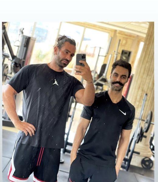 مهدی ماهانی و هم باشگاهیش + عکس