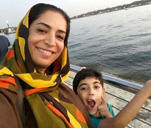 سفر دریایی بازیگر طنزهای مهران مدیری و پسرش+عکس