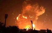 انفجار شدید در پایگاه ائتلاف سعودی