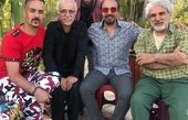 تیپ و ظاهر عجیب ارسطو پایتخت در کنار رضا عطاران+عکس
