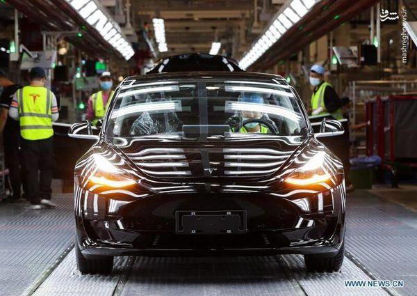 کارخانه خودروسازی تسلا + تصاویر