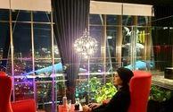 عکس مریم معصومی در هتل لوکس