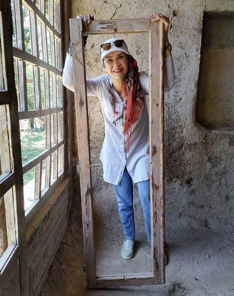 مینا نوروزی در قابی چوبی + عکس