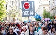 تظاهرات در مجارستان بخاطر برکناری سردبیر یک رسانه