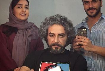 شازده ارسلان با لباس جوکر و گریم جدید+عکس