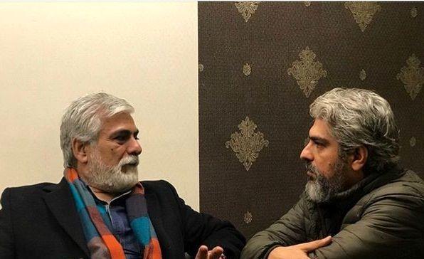 برادران پاکدل در حال صحبت + عکس