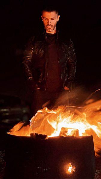 سیروان خسروی آتش به پا کرد + عکس