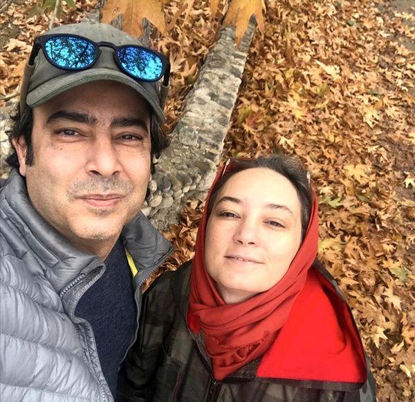زوج دوستداشتنی سینما در دل پاییز + عکس