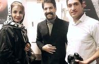 شبنم قلی خانی در کنسرت خواننده محبوبش+عکس