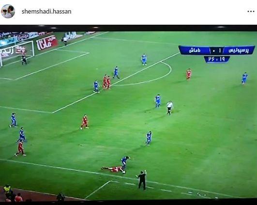 واکنش آقای خبرنگار به فاجعه فینال جام حذفی