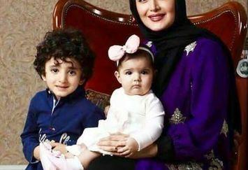 عکس زیبای شیلا خداداد با دختر و پسرش