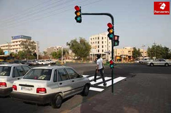 تجهیز 200 تقاطع پایتخت به سیستم ثبت تخلفات/کاهش تخلفات عبور از چراغ قرمز