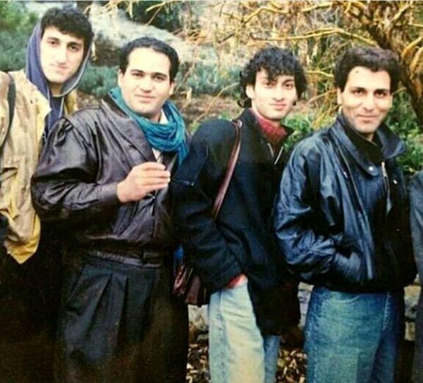 عکس بانمک از تیپ مهران مدیری و بازیگران طنز در 25 سال قبل