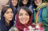 تولد الهام پاوه نژاد با دوستانش + عکس