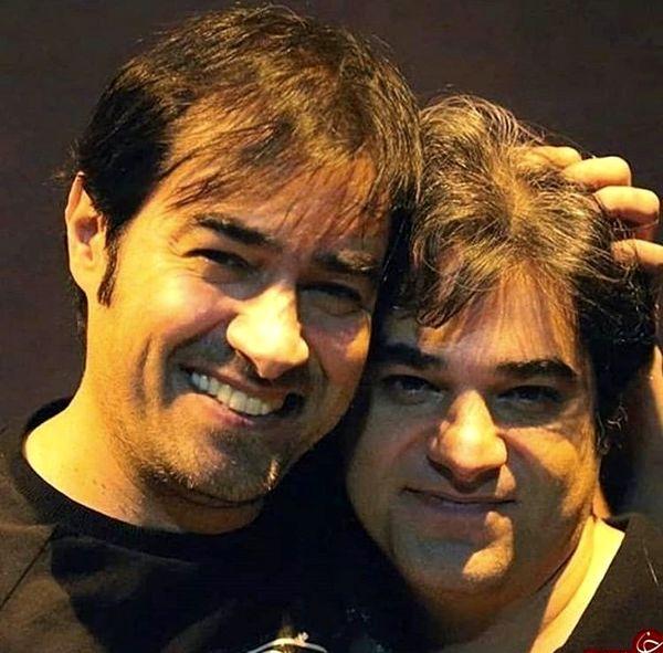 شهاب حسینی در کنار برادر بزرگش + عکس