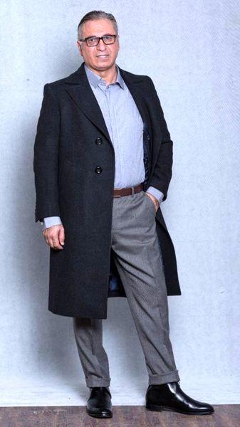 حمید فرخ نژاد با استایل رسمی + عکس
