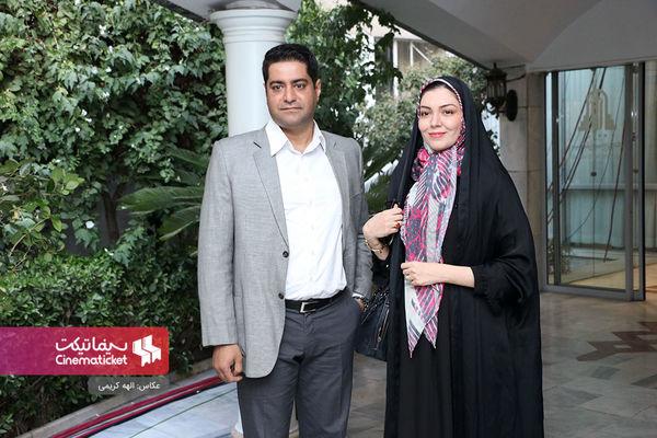 ست کردن آزاده نامداری و همسرش+عکس