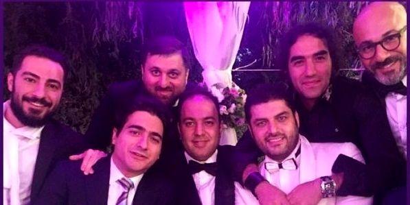 بازیگران درجه یک در عروسی نرگس محمدی+عکس