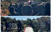 مراسم خاکسپاری اولین رئیس جمهور ایران + عکس
