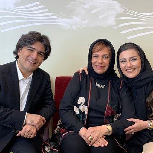 تبریک سامان احتشامی به گوهر مانا سینما و تلویزیون+عکس