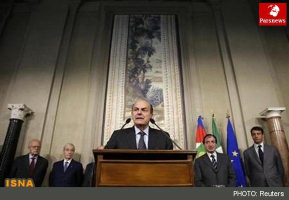 رهبر چپهای ایتالیا از تشکیل دولت ائتلافی بازماند
