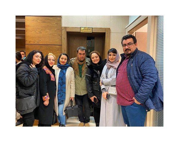 عکس جدید نرگس محمدی در حاشیه اکران سه کام حبس