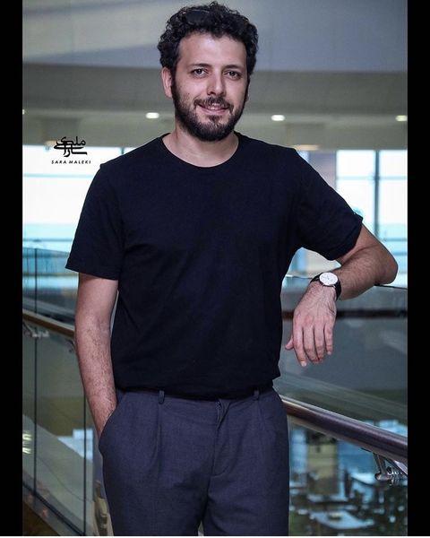 تیپ متفاوت پدرام شریفی + عکس
