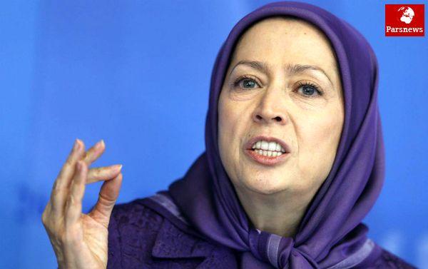 مریم رجوی: آشوبهای ایران کار ما بود