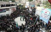 برگزاری آیین عزاداری تاسوعا در روستای کرمجگان قم
