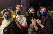 دیدار کوتاه خانم های بازیگر در دوران کرونا + عکس